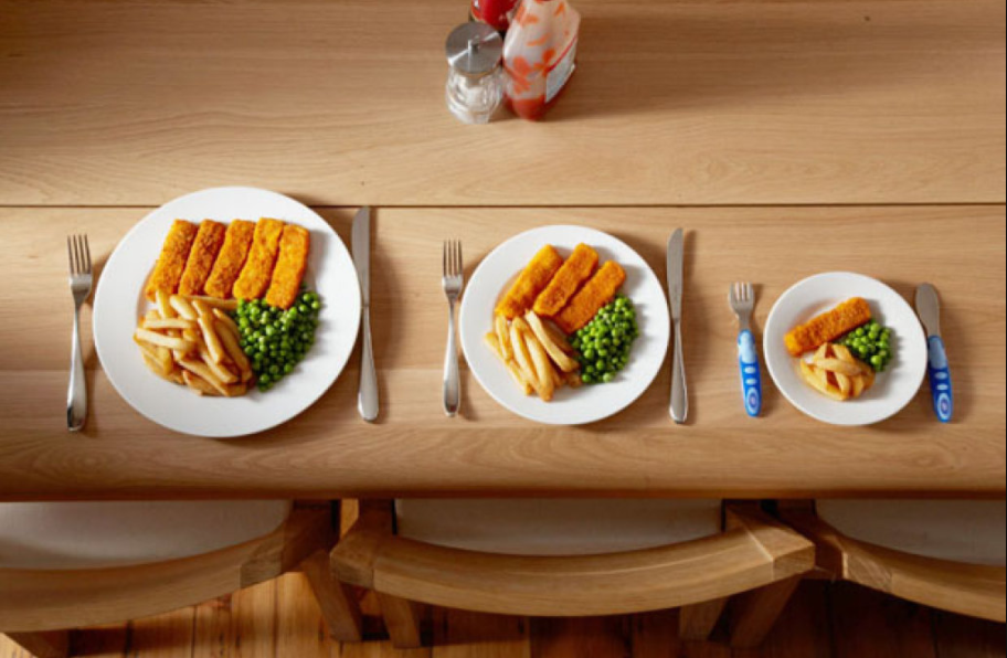 Eating in Smaller Plate Helps You Reduce Your Food Consumption Up tp 30 Percent