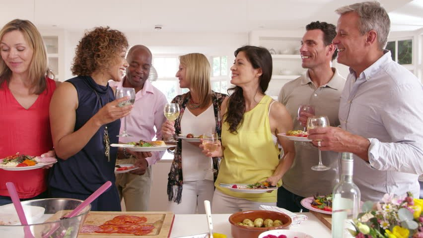 Standing Up While Eating and Chatting With Your Family and Friends Helps You Burn More Fat