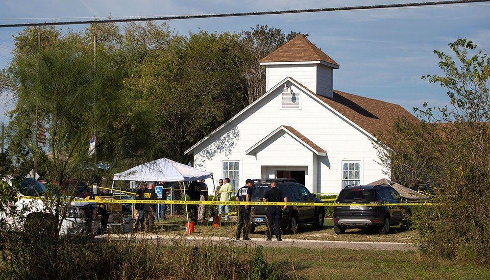 Texas Shooting on Sunday Morning Mass