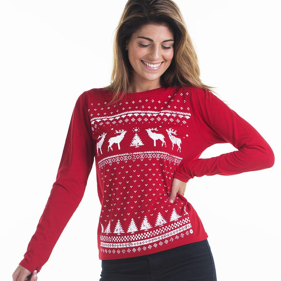 Wearing a Christmas Jumper Helps You Restrict the Foods You Eat