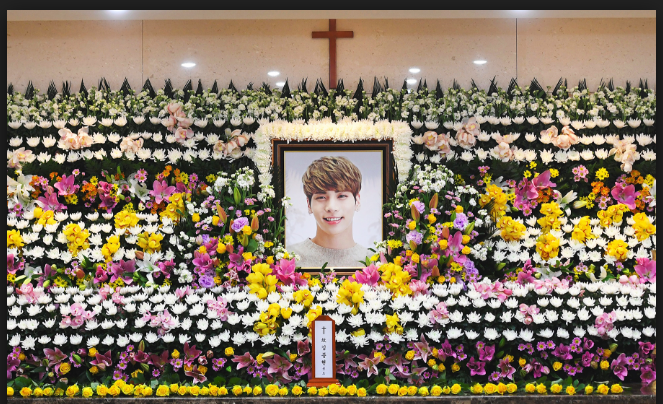Rest in Peace Jonghyun. You've Done Well. You Will Always Be Remembered