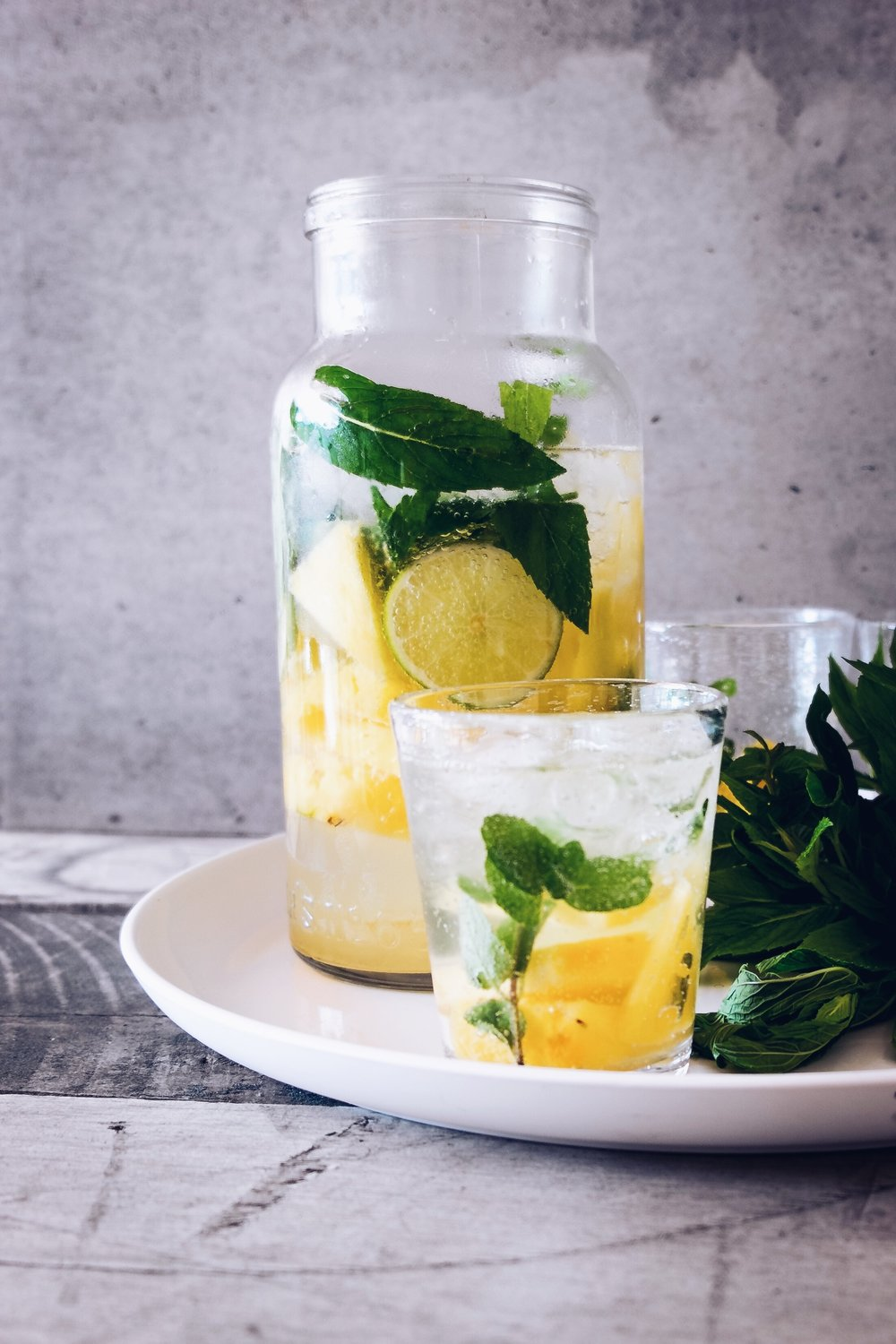 You can add a cup of lime or lemon juice to add some variation in your drink.