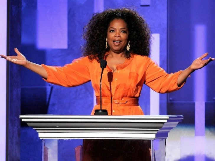 Oprah shared her story in an astounding crowd of 11,000 audiences when she attended a tech conference hosted by