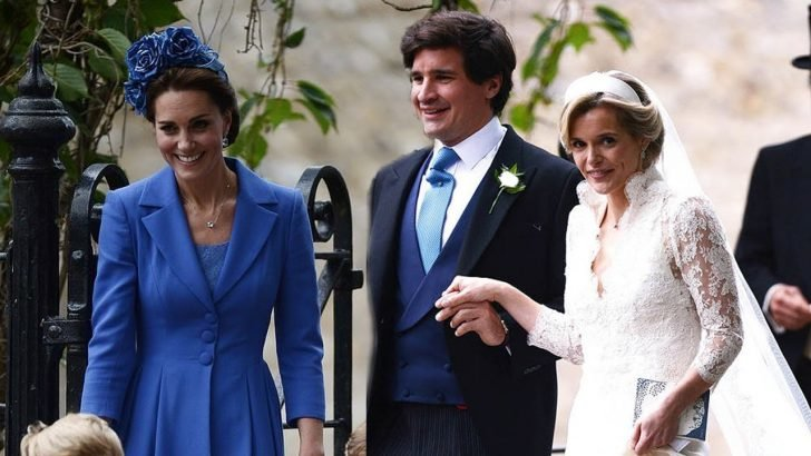 Sophie once dated Thomas van Straubenzee, who's also Prince William's close friend and a godfather to Princess Charlotte.