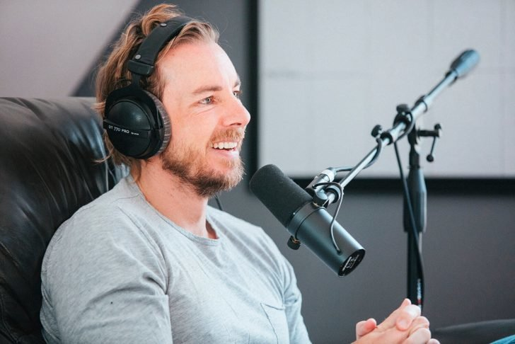 Shepard confessed his hesitance back then while speaking with the renowned actor, Chris D'Elia in