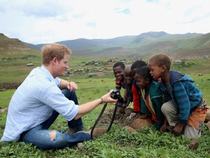 Prince Harry considers Lesotho his second home.