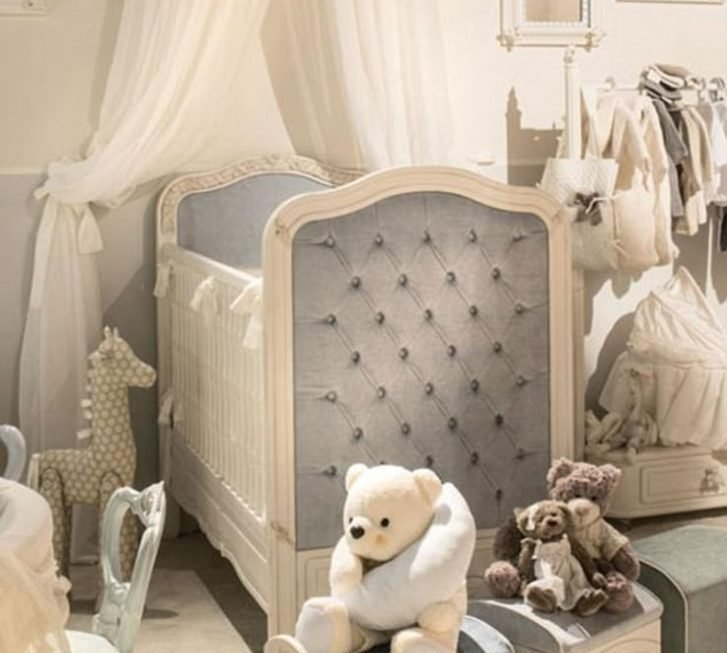 Kim treated her miracle baby with lavish things as she builds her nursery room.