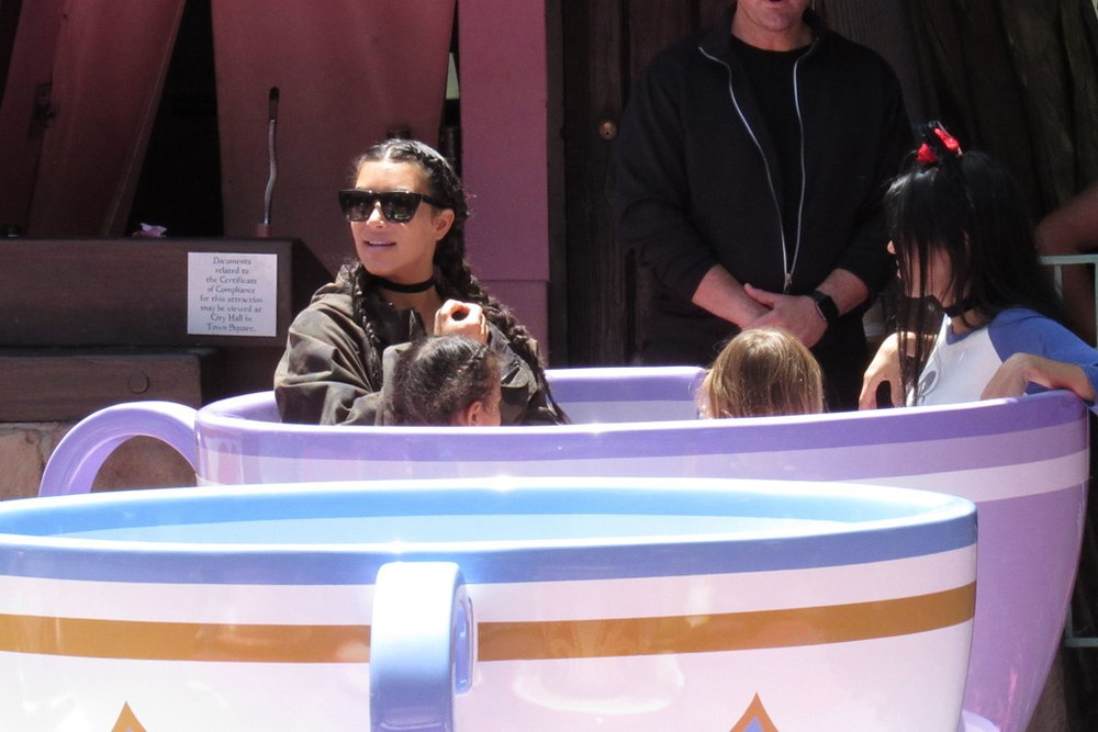 The Kardashians were like VIPs when they rented out a part of Disney Land to host North West' birthday.