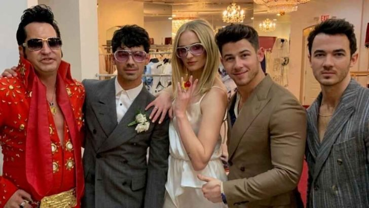 """Some fans speculate Turner and Jonas will still tie the knot in the """"love"""" country sometime this Summer for their second wedding."""