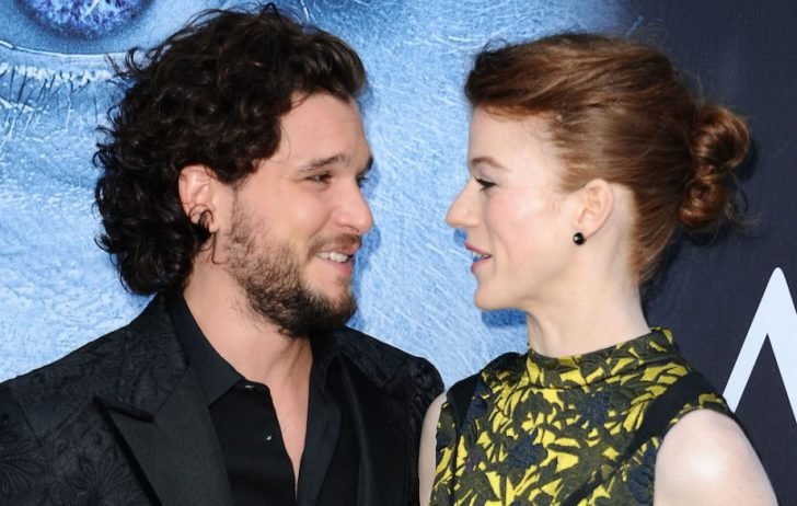 Kit and Rose gaze at each other with full of love, adoration, and admiration.
