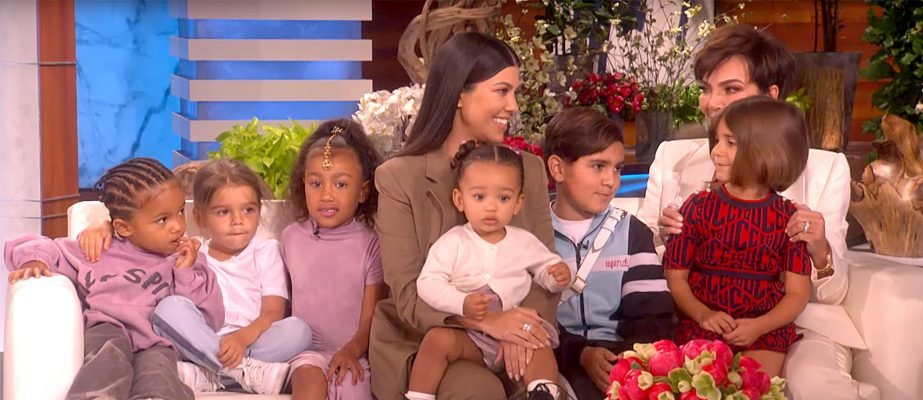 Kourtney and the audience couldn't help but laugh at Kris since she's so eager to meet her new grandson.