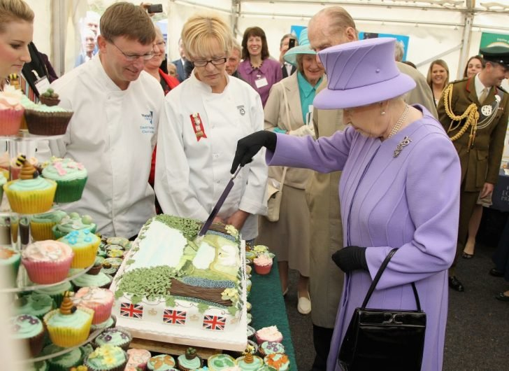 The lucky chef will have a chance to work and serve the Queen's meals as well as her royal family.