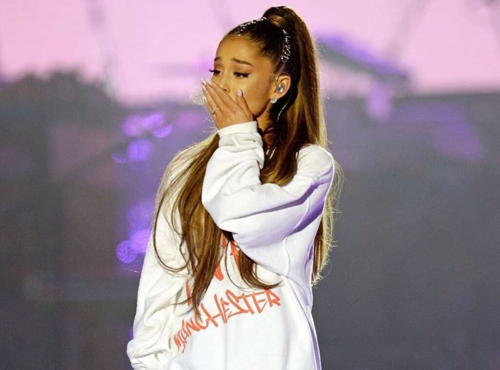 Grande thanked everyone who sent best wishes to her, and the singer assures her fans she's recovering now.