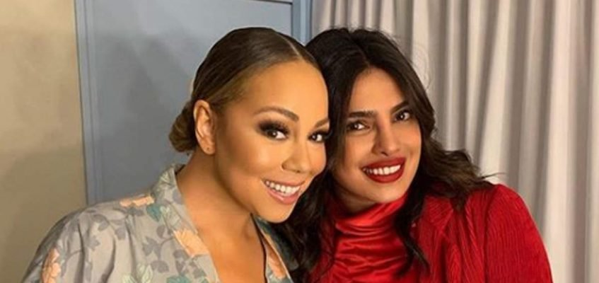 Chopra revealed she had a great time chatting and singing together with Mariah Carey.